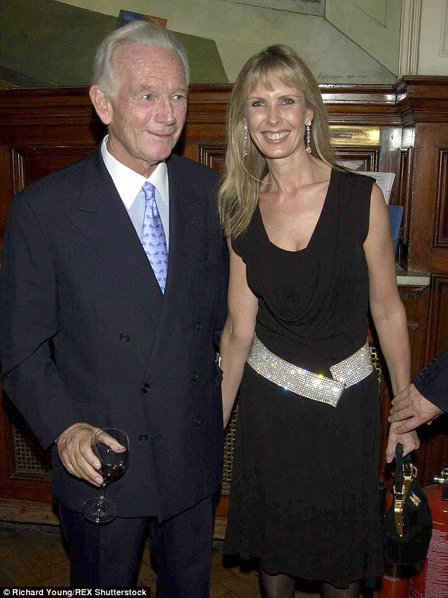 Fling: Jerry had a fling with Sangster (who was married to Susan Sangster (pictured) at the time and said it made her feel good; empowered, and was the only one during her 23 year relationship with him