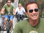 Picture Shows: Heather Milligan, Arnold Schwarzenegger  August 02, 2015\n \n Actor, Arnold Schwarzenegger and his girlfriend, Heather Milligan are spotted out for a bike ride in Santa Monica, California. Arnold celebrated his 68th birthday on July 30th with his ex-wife Maria Shriver and their kids.\n \n Non-Exclusive\n UK RIGHTS ONLY\n \n Pictures by : FameFlynet UK © 2015\n Tel : +44 (0)20 3551 5049\n Email : info@fameflynet.uk.com