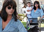 Selma Blair with son Arthur at the grocery store in Hollywood.\n\nPictured: Selma Blair, Arthur\nRef: SPL1092829  020815  \nPicture by: JLM / Splash News\n\nSplash News and Pictures\nLos Angeles: 310-821-2666\nNew York: 212-619-2666\nLondon: 870-934-2666\nphotodesk@splashnews.com\n