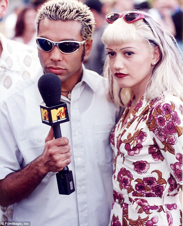 Ex love and bandmate: Before dating Gavin, Gwen previously romanced No Doubt bassist Tony Kanal but was left heartbroken when he ended their relationship in 1994