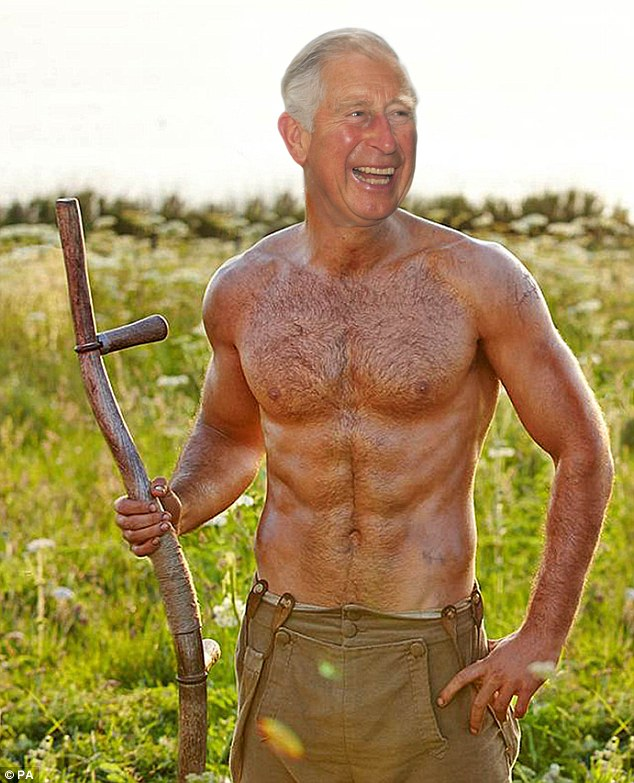 Mock up: How the Daily Mail imagines Prince Charles might look as Poldark (give or take a few years)