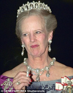 In 2001 a study by Professor Hugo Kesteloot appeared to blame Queen Margrethe (pictured left in 1986, and right in 2002) for the rate of female deaths due to smoking in Denmark