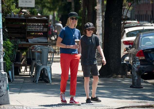 Keeping busy: Ellen will also appear in the upcoming gay-rights drama Freeheld alongside Julianne Moore, and then voice characters in Window Horses and Robodog