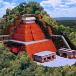 Tonina - największa piramida Meksyku