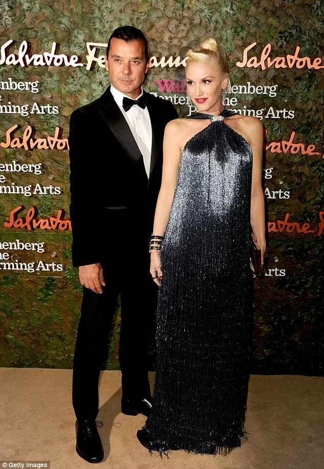 It's over: Gwen Stefani reportedly ended her marriage to Gavin Rossdale because she 'believed he had been unfaithful'