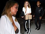 Chrissy Teigen and John Legend Have Dinner at Craigs  Pictured: Chrissy Teigen, John Legend Ref: SPL1093913  030815   Picture by: All Access Photo Group  Splash News and Pictures Los Angeles: 310-821-2666 New York: 212-619-2666 London: 870-934-2666 photodesk@splashnews.com
