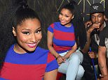 ATLANTA, GA - AUGUST 02: Ruggs, Tracy T, Nicki Minaj, Monica Brown, Meek Mill, Chubbie Baby and Yo gotti   attend the Pinkprint Tour after party at XS Lounge on August 2, 2015 in Atlanta, Georgia.  (Photo by Prince Williams/WireImage)