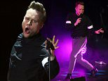 4th August 2015..Olly Murs performs at the Perth Convention and Exhibition Centre in Perth, Western Australia....Pictured: Olly Murs..Ref: SPL1089858  040815  ..Picture by: Splash News....Splash News and Pictures..Los Angeles: 310-821-2666..New York: 212-619-2666..London: 870-934-2666..photodesk@splashnews.com..