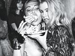 Miley Cyrus, Paris Hilton, Amber Valletta, Asia Chow, Frankie Rayder, Emily Ratajkowski, and a cast of VIPs party like it¿s 1989 for a fashion shoot in W¿s September issue. \n\nPhoto credit: Mert Alas & Marcus Piggott for W.  Fashion shoot was styled by Edward Enninful. \n\nPlease include the link back to:  http://www.wmagazine.com/fashion/2015/08/miley-cyrus-1980s-party/photos/ (this link will go live at 9am)\n