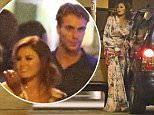 TOWIES JESSICA WRIGHT, FERNE MCANN, SEEN LEAVING NU BAR IN LOUGHTON ESSEX AT 1AM WITH LOVE ISLANDS MAX MORLEY, JOSH RICHIE AND HULK. SUNDAY 2ND AUGUST 2015 - MAGICMOMENTSUK - 07753 30 30 77
