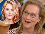 Meryl Streep on TODAY