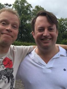 Mark and Jez reunited as ninth - and final - series of Peep Show starts filming