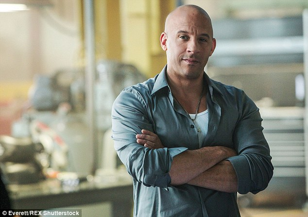 Full speed ahead: Fast and Furious 7 raced to over $1 billion at the box office, making star Vin Diesel No.3 on Forbes' richest actor's list