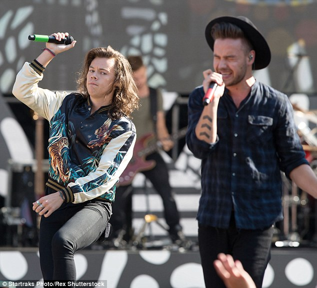 New direction:Drag Me Down is the band's first single without former member Zayn Malik and is setting their pace as a four-piece with it setting a new Spotify record with more than 4.75 million streams in one day.