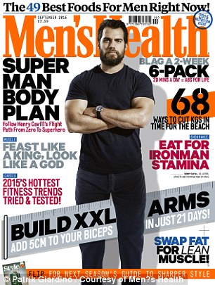 Get the look: Read about Henry's grueling regime in the September issue of Men's Health