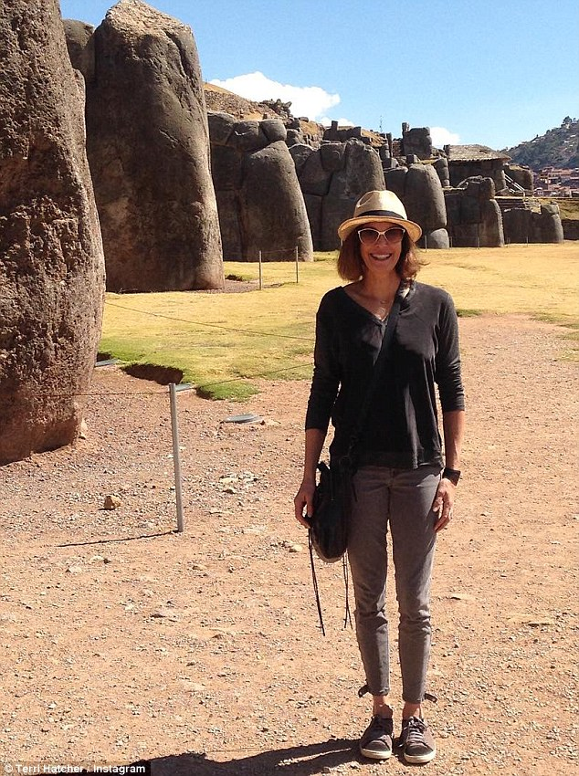 Travel: TheSmallville star recently took some time off for her own adventure to a popular South American vacation destination known as Machu Picchu