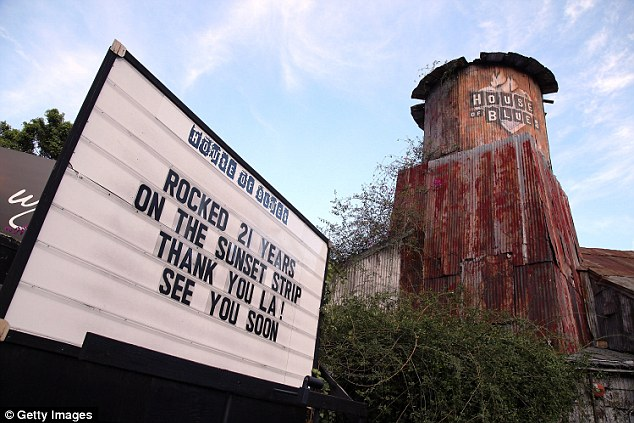 All over: The music venue is being knocked down to make way from a hotel and apartments