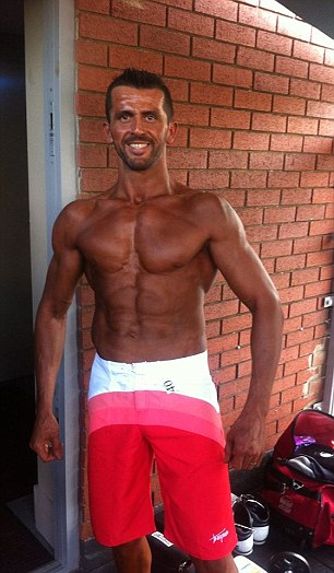Since ditching his fast food and dizzy drink habit, he has shaped up and is now a bodybuilder