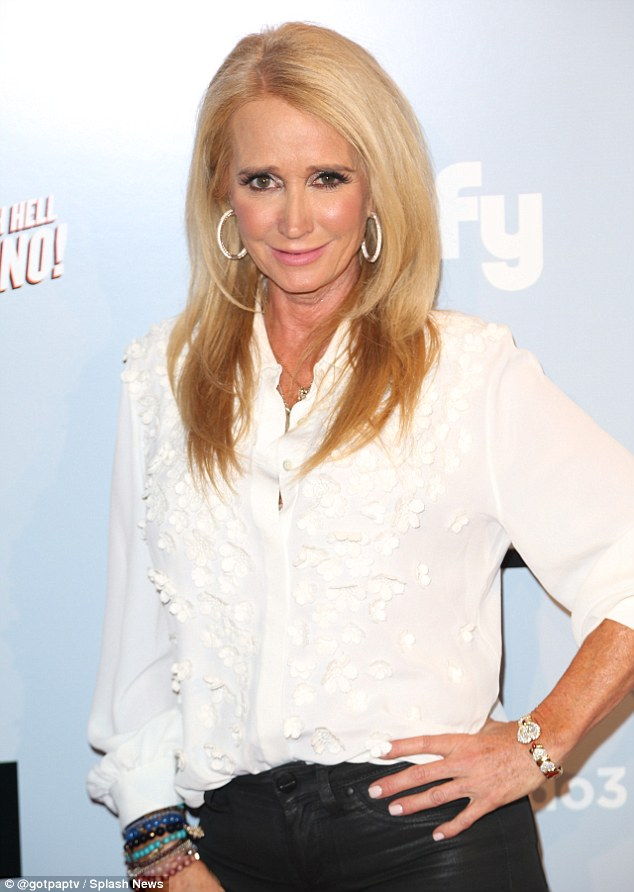 Homeless: Axed Real Housewives of Beverly Hills Star Kim Richards was living out of her car at the time of her arrest for shoplifting at Target