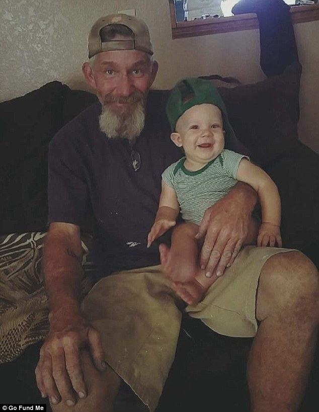 Leavitt's family says that the grandfather is recovering, but they are having trouble paying the medical bills for hip replacement and leg surgeries