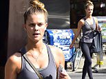 NEW YORK, NY - AUGUST 03:  Nina Agdal is seen in Soho  on August 3, 2015 in New York City.  (Photo by Alo Ceballos/GC Images)
