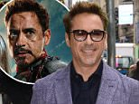 Mandatory Credit: Photo by REX Shutterstock (4715370c).. Robert Downey Jr... 'Good Morning America' TV show, New York, America - 24 Apr 2015.. ..