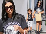 Kourtney Kardashian with Mason Disick shopping in Beverly Hills, CA. \n\nPictured: Kourtney Kardashian \nRef: SPL1090563  030815  \nPicture by: WAB / Splash News\n\nSplash News and Pictures\nLos Angeles: 310-821-2666\nNew York: 212-619-2666\nLondon: 870-934-2666\nphotodesk@splashnews.com\n