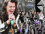 One Direction performs during ABC's 'Good Morning America' at Rumsey Playfield, Central Park on August 4, 2015 in New York City.\n\nPictured: Harry Styles,Niall Horan, Liam Payne, Louis Tomlinson\nRef: SPL1092214  040815  \nPicture by: Jackie Brown / Splash News\n\nSplash News and Pictures\nLos Angeles: 310-821-2666\nNew York: 212-619-2666\nLondon: 870-934-2666\nphotodesk@splashnews.com\n