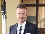 Mandatory Credit: Photo by REX Shutterstock (4858423h).. David Beckham.. The Queen's Young Leaders Awards reception, Buckingham Palace, London, Britain - 22 Jun 2015.. ..