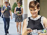 EXCLUSIVE: Kate Mara spotted wearing a floral print dress while getting a healthy green juice drink in NYC\n\nPictured: Kate Mara\nRef: SPL1094080  040815   EXCLUSIVE\nPicture by: J. Webber / Splash News\n\nSplash News and Pictures\nLos Angeles: 310-821-2666\nNew York: 212-619-2666\nLondon: 870-934-2666\nphotodesk@splashnews.com\n