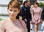 Mandatory Credit: Photo by ddp USA/REX Shutterstock (4928758e)\n Kate Mara\n Kate Mara out and about, New York, America - 04 Aug 2015\n \n