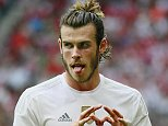 Football - Real Madrid v Tottenham Hotspur - Audi Cup Semi Final - Pre Season Friendly Tournament - Allianz Arena, Munich, Germany - 4/8/15  Gareth Bale celebrates after scoring the second goal for Real Madrid  Action Images via Reuters / Jason Cairnduff  Livepic  EDITORIAL USE ONLY.