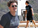 Picture Shows: Orlando Bloom  August 03, 2015    'The Hobbit' actor Orlando Bloom is spotted visiting a friend's house in Los angeles, California. Orlando recently returned to LA after having attended Guy Ritchie's wedding.     Exclusive All Rounder  UK RIGHTS ONLY    Pictures by : FameFlynet UK � 2015  Tel : +44 (0)20 3551 5049  Email : info@fameflynet.uk.com