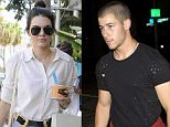 Nick Jonas looking very Buff in a fitted t-shirt shirt seen arriving for dinner at 'Craigs' Restaurant in West Hollywood, CA\n\nPictured: Nick Jonas\nRef: SPL1095128  040815  \nPicture by: SPW / Splash News\n\nSplash News and Pictures\nLos Angeles: 310-821-2666\nNew York: 212-619-2666\nLondon: 870-934-2666\nphotodesk@splashnews.com\n