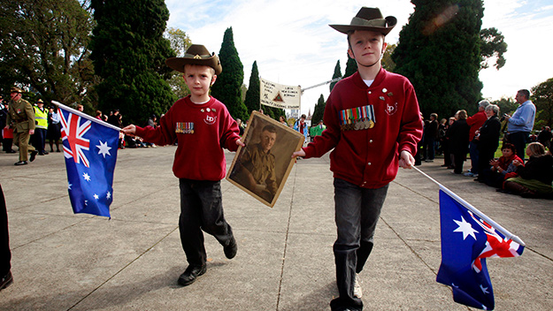 Family events to celebrate Anzac Day this weekend