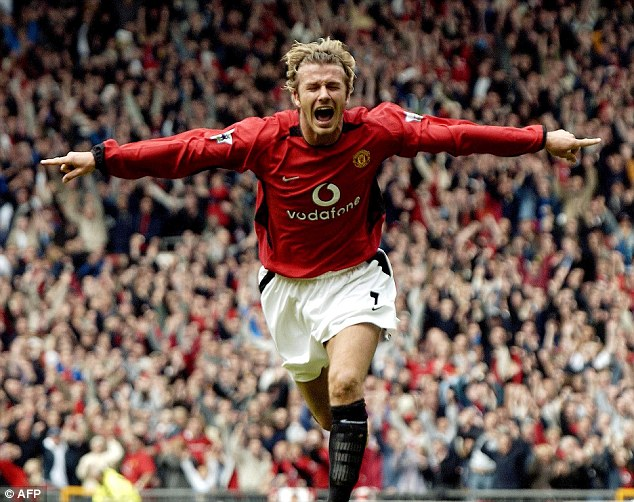 Beckham won six Premier Leagues, two FA Cups and the Champions League during his time at Old Trafford