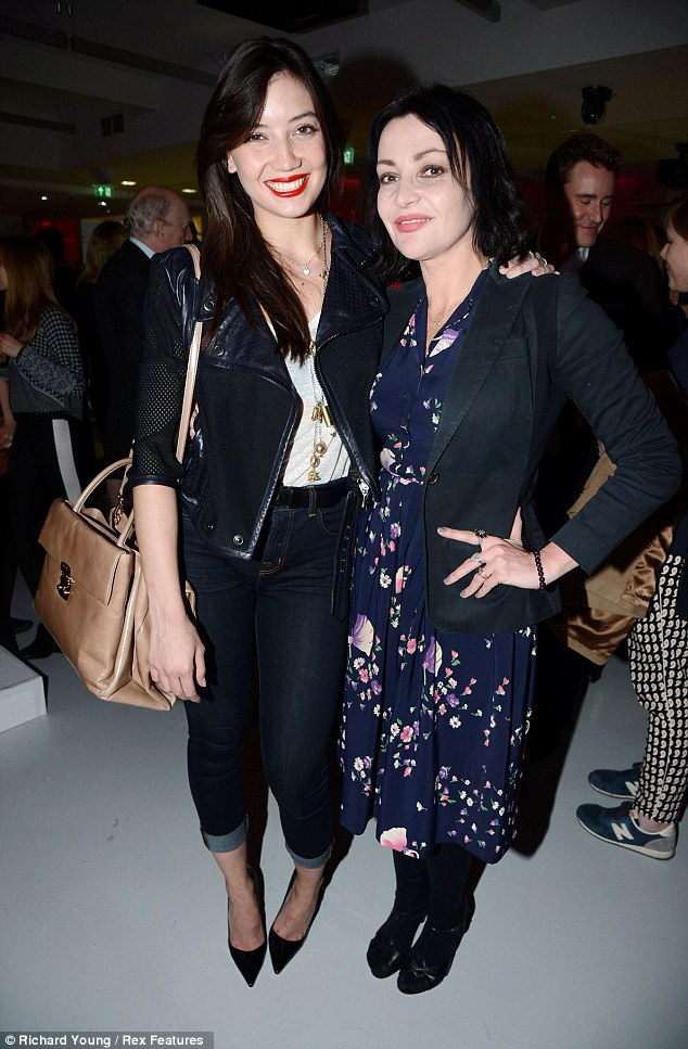Pearl Lowe (right) pictured with daughter Daisy Lowe (left), whose biological father is Gavin Rossdale