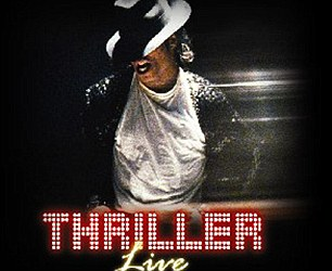 He recorded Thriller while living at the house