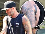 The tattoo we never knew Becks had! David Beckham gives a glimpse at new eagle wings inking as he once again adds to his extensive collection By NOLA OJOMU FOR MAILONLINE PUBLISHED: 16:48, 5 August 2015   UPDATED: 19:05, 5 August 2015       7 shares 41 View comments He has been happy to debut his latest tattoos on his Instagram page in the past month. But it appears David Beckham chose to keep one of his newest inkings to himself, after getting what appears to be an eagle wing under his left armpit. The footballer?s tattoo was clear to see as he left his morning workout class at his favourite SoulCycle gym in California on Tuesday.   Read more: http://www.dailymail.co.uk/tvshowbiz/article-3186133/David-Beckham-gives-glimpse-new-eagle-wings-tattoo.html#ixzz3hxxPTSmL  Follow us: @MailOnline on Twitter   DailyMail on Facebook