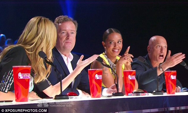Heated discussion: The panellists couldn't agree on much as usual and had a heated debate