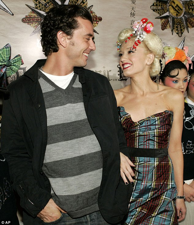The couple, pictured celebrating the launch of her solo album in 2004, tried to keep their private life away from the media glare