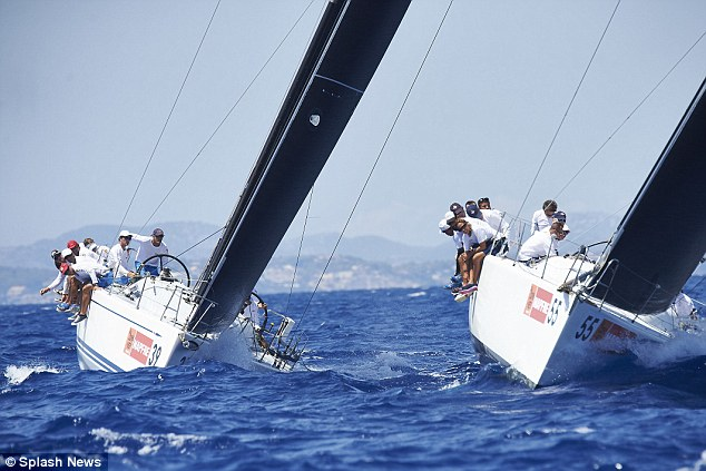 The yacht was taking part in a sub-race during the 34th Copa del Rey Mapfre Sailing Cup