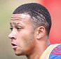 MANCHESTER, ENGLAND - AUGUST 05:  (EXCLUSIVE COVERAGE) Memphis Depay of Manchester United in action during a first team training session at Aon Training Complex on August 5, 2015 in Manchester, England.  (Photo by John Peters/Man Utd via Getty Images)