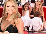 HOLLYWOOD, CA - AUGUST 05:  Singer Mariah Carey (C), with Monroe Cannon and Moroccan Cannon, is honored with Star on The Hollywood Walk of Fame on August 5, 2015 in Hollywood, California.  (Photo by Jeff Kravitz/FilmMagic)