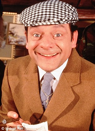Del Boy (Sir David Jason) in Only Fools and Horses