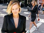 EXCLUSIVE TO INF.\nAugust 4, 2015: Lara Bingle dons a little black dress and pale booties while out in New York City.\nMandatory Credit: INFphoto.com Ref.: infusny-286/293