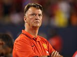 CHICAGO, IL - JULY 29: Louis van Gaal the head coach / assistant manager of Manchester United during the International Champions Cup match between Manchester United and Paris Saint-Germain at Soldier Field on July 29, 2015 in Chicago, Illinois.  (Photo by Matthew Ashton - AMA/Getty Images)