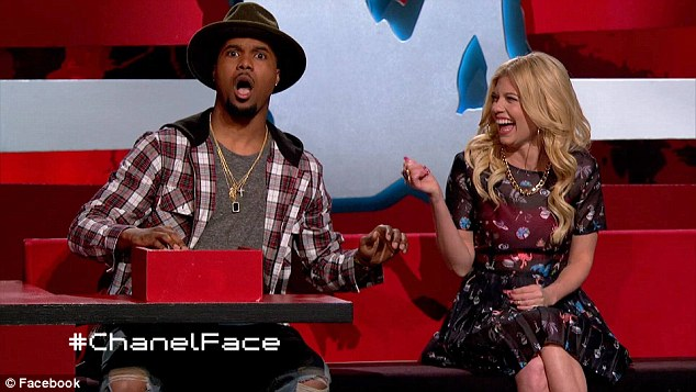 Celebrity: Dudley, right, is a main cast member on Ridiculousness, where she and her co-hosts, 'Steelo' Brim (left) and Rob Dyrdek review online videos