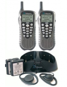 eXRS Frequency-hopping spread spectrum private handheld TSX300 radios
