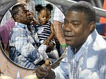 Tracy Morgan attends Yankees and Red Sox game at Yankee Stadium in the Bronx New York.\n\nPictured: Tracy Morgan\nRef: SPL1095013  040815  \nPicture by: Jackie Brown / Splash News\n\nSplash News and Pictures\nLos Angeles: 310-821-2666\nNew York: 212-619-2666\nLondon: 870-934-2666\nphotodesk@splashnews.com\n